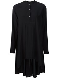 Maiyet Hi Lo Kaftan Top Black