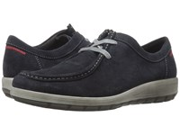 Ara Trista Navy Suede Women's Shoes Blue