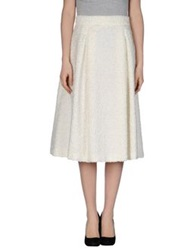 Laviniaturra 3 4 Length Skirts White