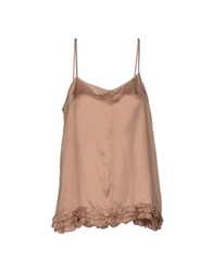 Semi Couture Tops Sand