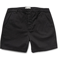 Band Of Outsiders Touring Cotton Twill Shorts Black