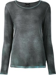 Avant Toi Crew Neck Top Grey