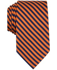 Nautica Men's Yachting Stripe Tie Orange