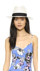 Hat Attack Original Panama Fedora Bleach Black