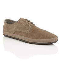 Frank Wright St Lucia Mens Slip On Shoes Taupe