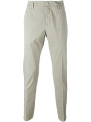 Dondup Slim Fit Chinos Nude And Neutrals