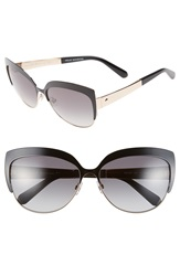 Kate Spade 'Raelyn' 59Mm Cat Eye Sunglasses Black