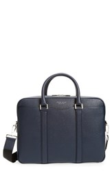 Boss Men's 'Signature' Leather Briefcase