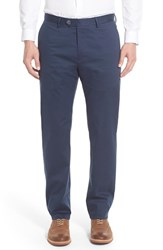 Men's Peter Millar 'Perfect' Straight Leg Trousers Navy