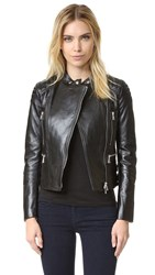Belstaff Sidney Leather Jacket Black