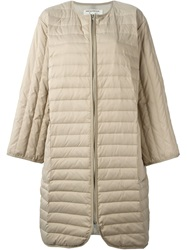 Henrik Vibskov Padded Coat Nude And Neutrals