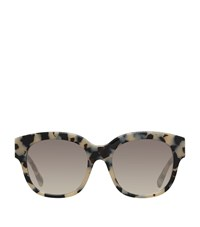Stella Mccartney Chain Trim Square Sunglasses Female Brown