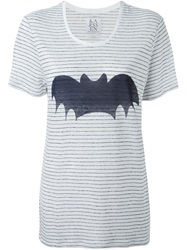 Zoe Karssen 'Bat' Oversized T Shirt White