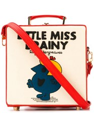 Olympia Le Tan Small Little Miss Brainy Box Tote Red