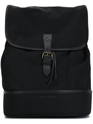 Tomas Maier Square Shaped Backpack Black
