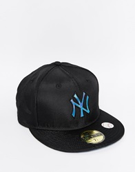 New Era 59Fifty Ny Oil Slick Fitted Cap Black