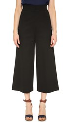 Tibi High Waist Nerd Pants Black