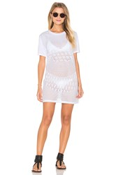 Rvca Scopic Dress White