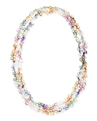 Walter Steiger Dominique Double Strand Stone Necklace
