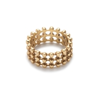 J.Crew Stacked Ball Ring
