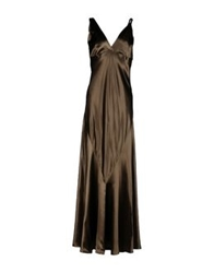 Ralph Lauren Long Dresses Dark Green