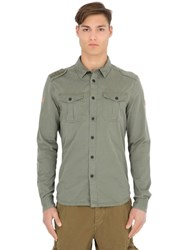 Superdry Cotton Twill Army Shirt