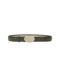 Cafe'noir Cafenoir Belts Military Green