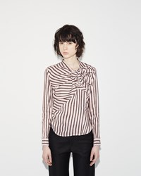 Isabel Marant Mista Blouse Black Red