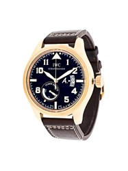 Iwc 'Antoine De Saint Exupery Limited' Analog Watch Black