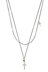Forever 21 Men Ettika Cross Necklace