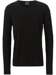 Laneus Long Sleeve T Shirt Black