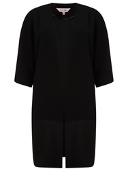 Phase Eight Unstructured Coat Black