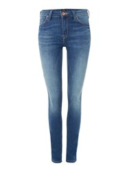 Lee Jodee Super Skinny Jean Denim Mid Wash