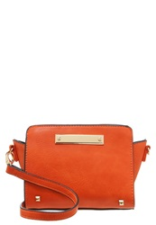 Miss Selfridge Across Body Bag Orange