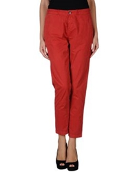Bellerose Casual Pants Red
