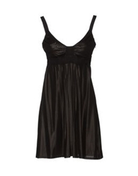 Richmond Denim Short Dresses Black