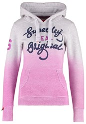 Superdry Sweatshirt Ice Marl Pink Light Grey