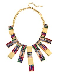 Charm And Chain Statement Necklace 16 Multi