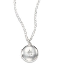 Astley Clarke Moonstone And Sterling Silver Little Astley Locket Necklace