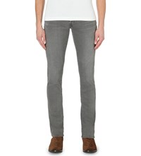 Tom Ford Slim Fit Tapered Jeans Wshd Grey