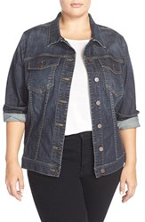 Plus Size Women's Kut From The Kloth Denim Jacket