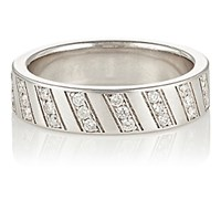 Ambre Victoria Women's Pave White Diamond Band No Color