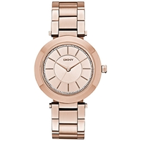 Dkny Ny2285 Women's Stanhope Stainless Steel Bracelet Watch Rose Gold