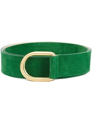 Barbara Bui Gold Tone Hardware Belt Green