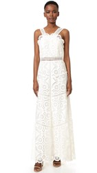 Alexis Eveline Dress White