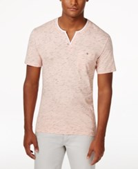 Inc International Concepts Static Shock Henley Only At Macy's Peach Melba