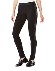 Bcbgmaxazria Jaims Lace Up Ponte Legging Black