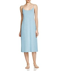 Natori Shangri La Knit Gown Sailor Blue