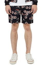 Topman Men's Co Ord Collection Floral Print Wide Leg Shorts