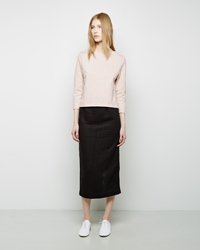 Apiece Apart Vittoria Straight Skirt Black